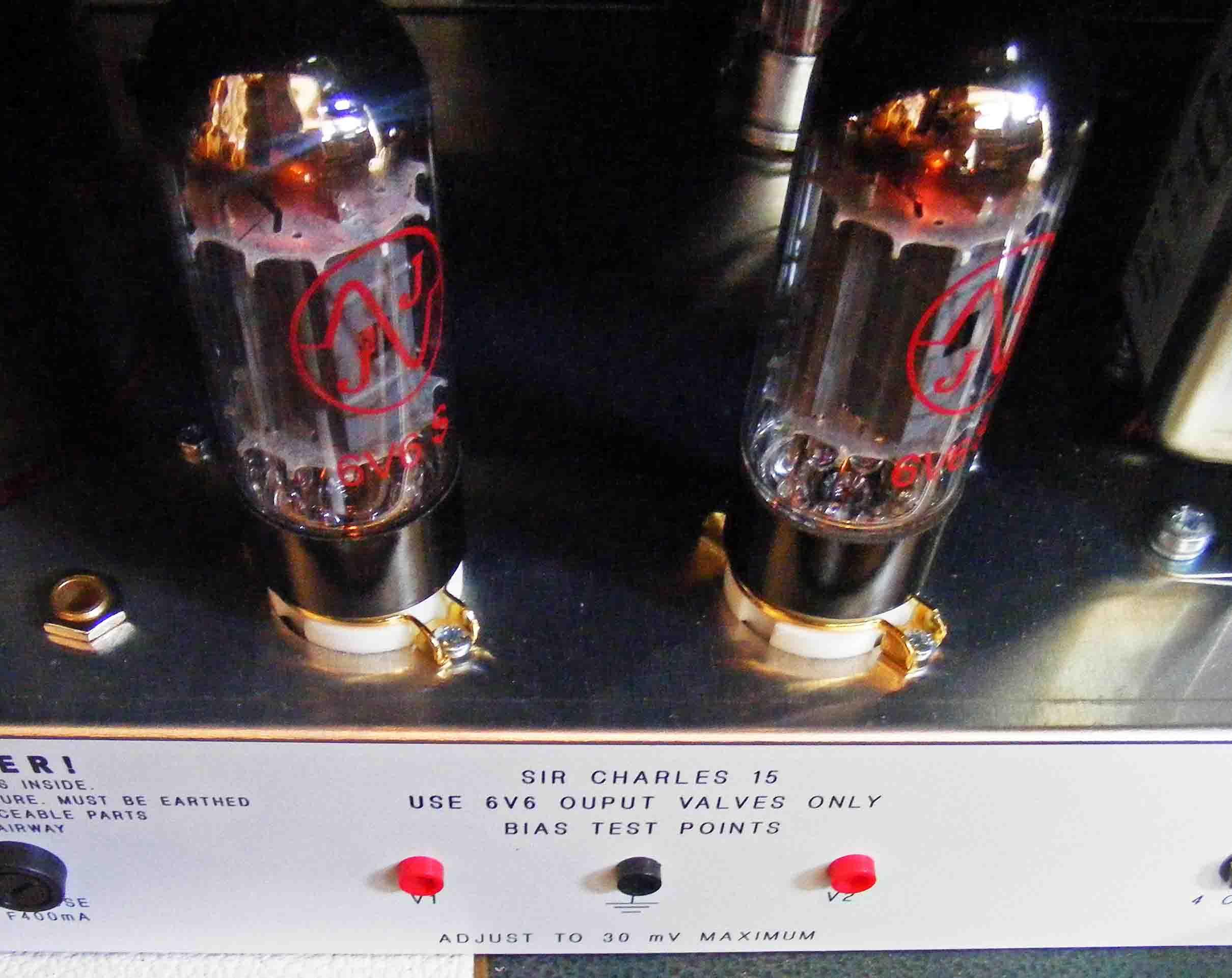 JPF Amplification Sir Charles 15 6V6 Valves