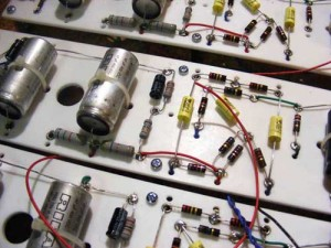 JPF Amps Hand Wired Circuit Board