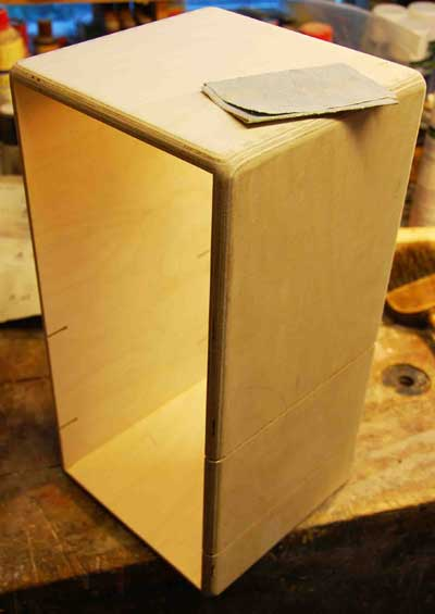 JPF Amps Headshell In Production